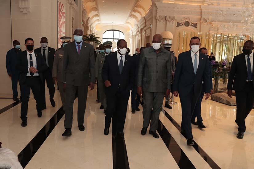 Mini Sommet des Chefs d'Etat de l'UEMOA - Paris, le 18 mai 2021 -1