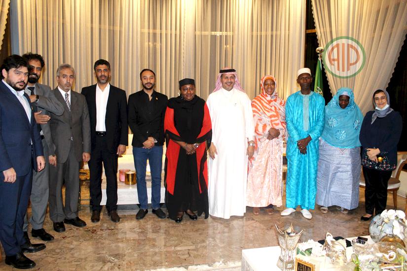 Rupture collective du jeune à l'Ambassadeur d'Arabie saoudite à Abidjan, le 6 mai 2021