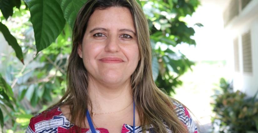 Christiani Buani, chef de l'Unité des Opérations et Management au Centre d'Excellence Régional contre la Faim et la Malnutrition (CERFAM)