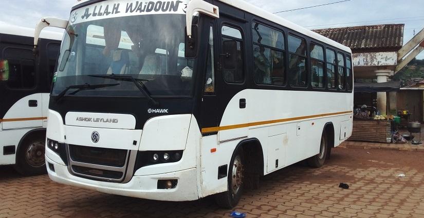Des bus mis à la disposition des transporteurs de Fresco immobilisés