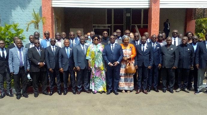 Des parlementaires formés sur le droit international humanitaire