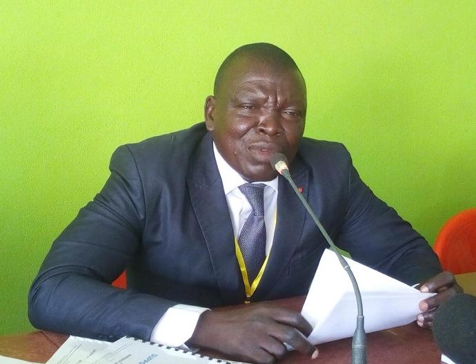 Le conseiller régional Noufé Sansan, référent politique du Projet ECOTER dans le Bounkani