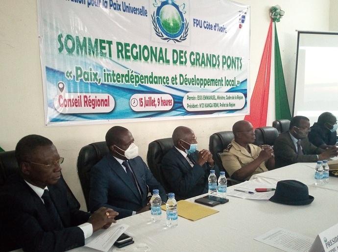 Réunion préparatoire du sommet sur la paix mondiale