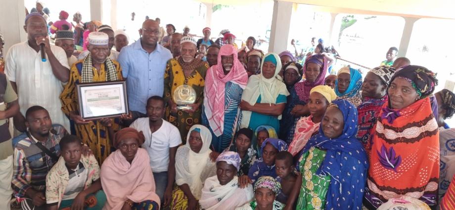 LKS en communion avec les populations de Prikro, dimanche 18 juillet 2021