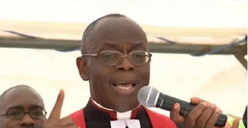 Bishop Benjamin Bonin, président de la conférence de l'EMUCI