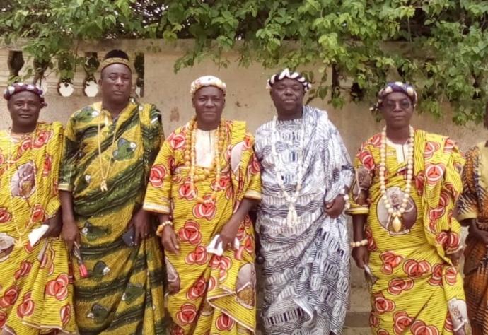 Chefs de génération Gwa d'Alépé