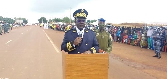 Le préfet de Mankono, Cyrille Ambroise Diomandé