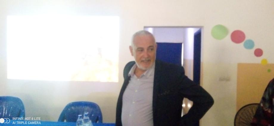 Monsieur Gilbert Le Bigot, chef de projet de Coginta
